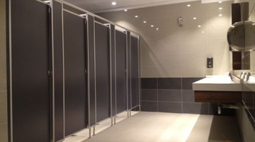 Ifuba - Custom bathroom partitions